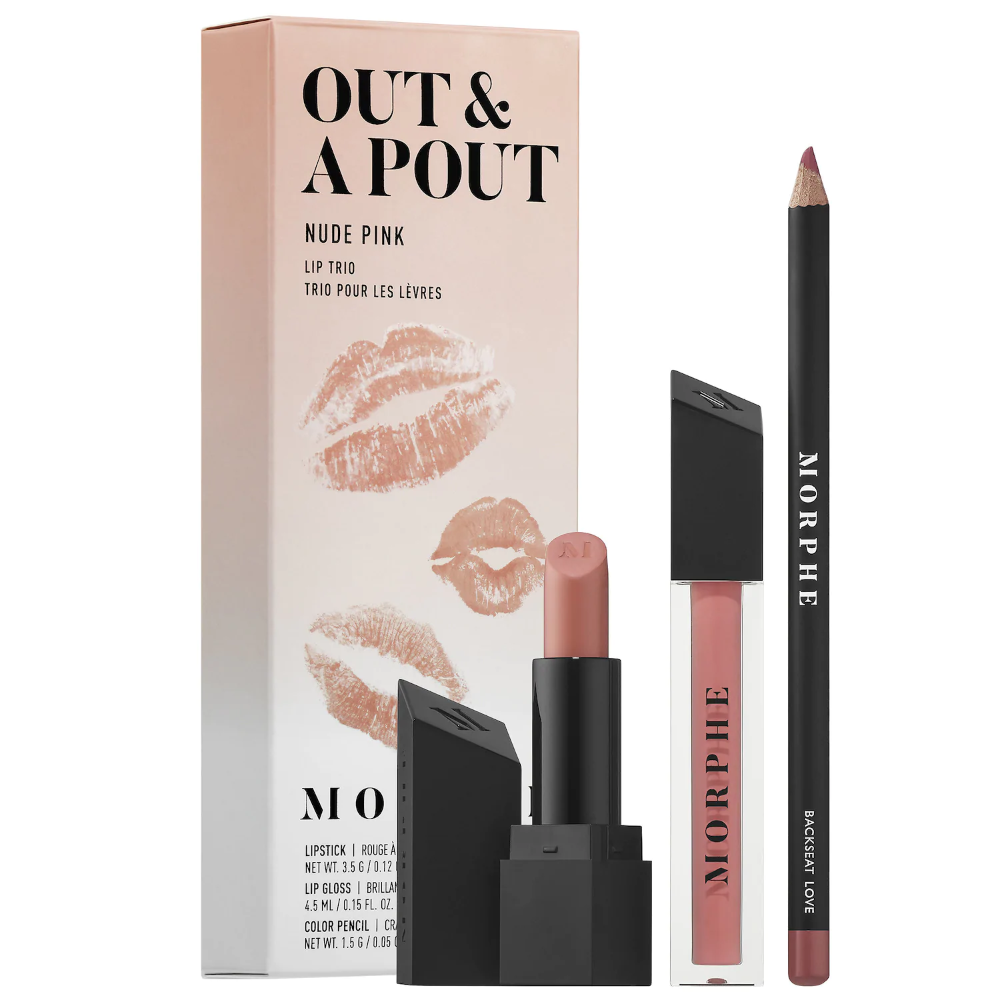 Out & A Pout Lip Trio Morphe Sephora in 2020 Lips