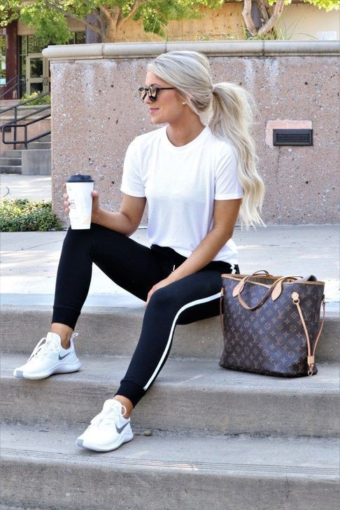 50 Super Cute Outfits Ideas For Short Women Fall Activewear Sporty Outfits Fashion