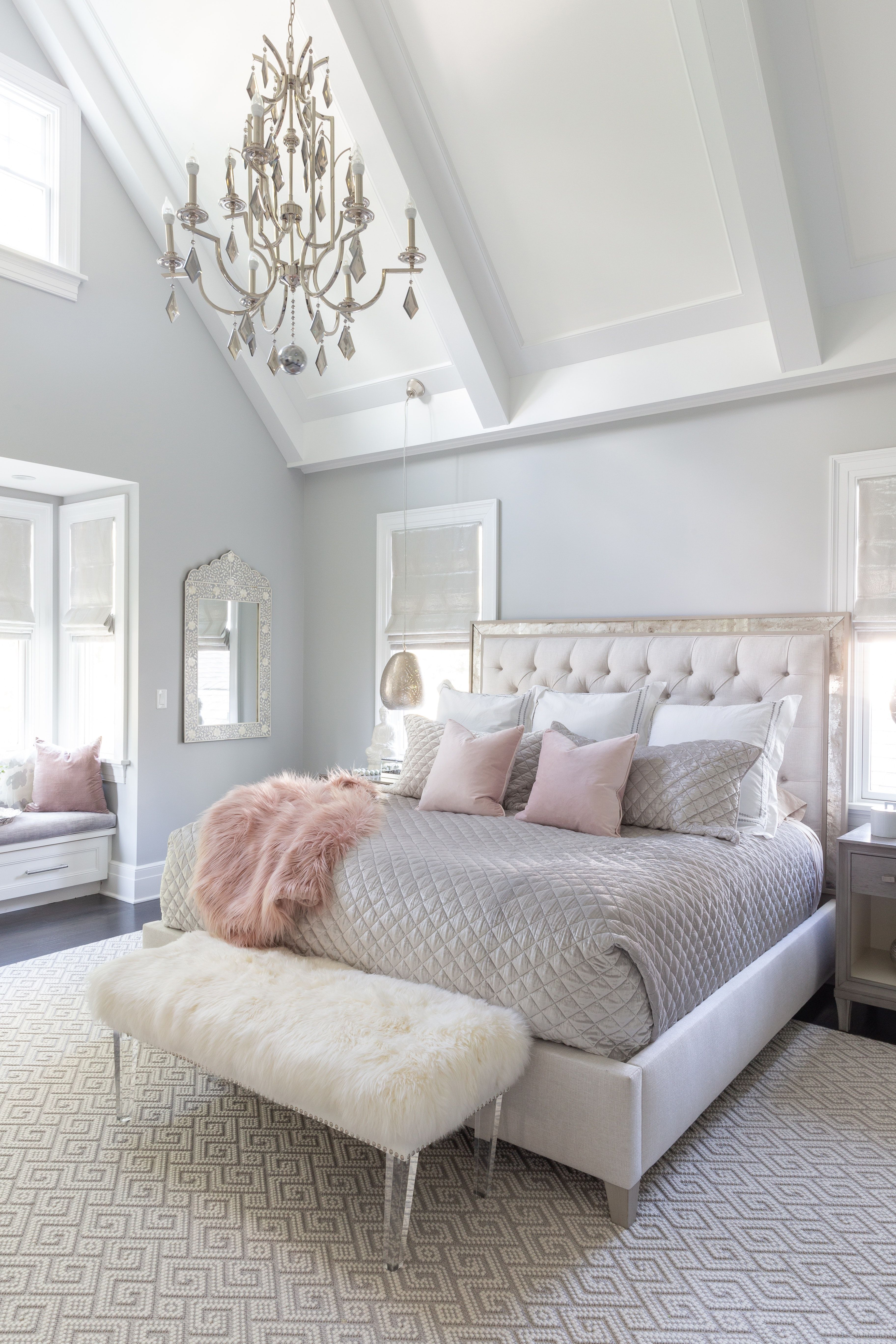 Cozy and Serene Master Bedroom Reveal. Our master bedroom is finally  complete! Admittedly, I finish… | Remodel bedroom, Houzz bedroom, Master  bedroom decor romantic