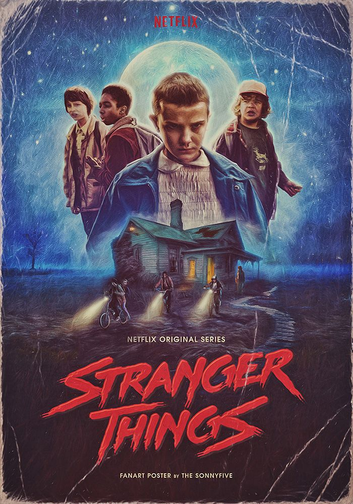 Friday Night at the Movies - Stranger Things 1 & 2 #filmposters