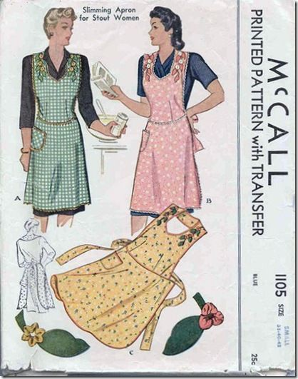 Retro Aprons | vintage style aprons | To Sew or Not to Sew ...