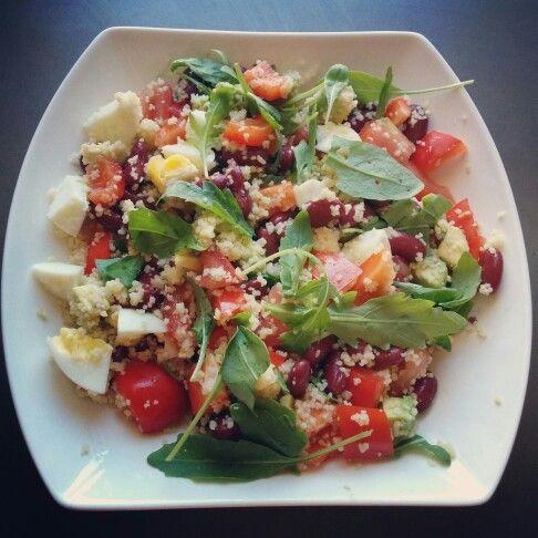 Heerlijke couscous salade!