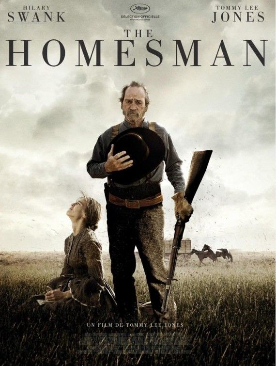 The Homesman (2014) with Hilary Swank & Tommy Lee Jones. This movie was directed by Tommy Lee Jones