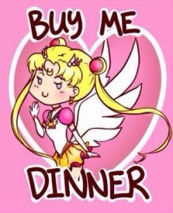 Sailor Moon Valentines Card