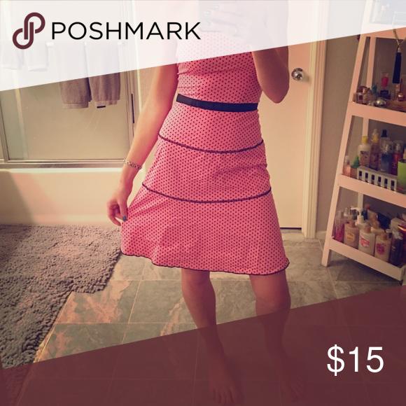 💥SUNDAY SALE💥 Strapless Dress Super cute dress!! Strapless, zipper back. Charlotte Russe Dresses Strapless