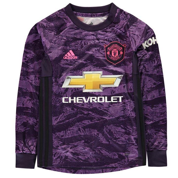 adidas Manchester United Home Goalkeeper Shirt 2019 2020
