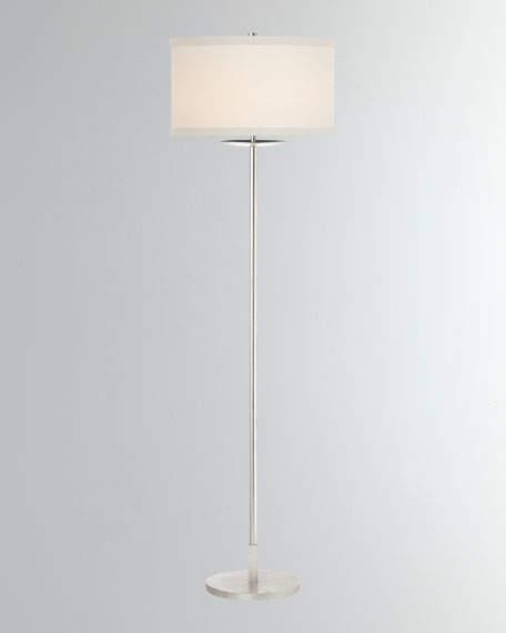 Kate Spade New York Walker Medium Floor Lamp Metal Floor Lamp