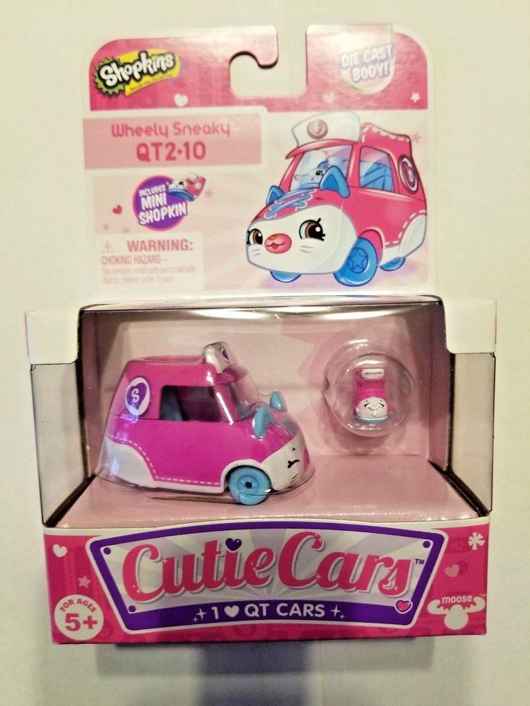 Shopkins Cutie Auto-Wheely Sneaky