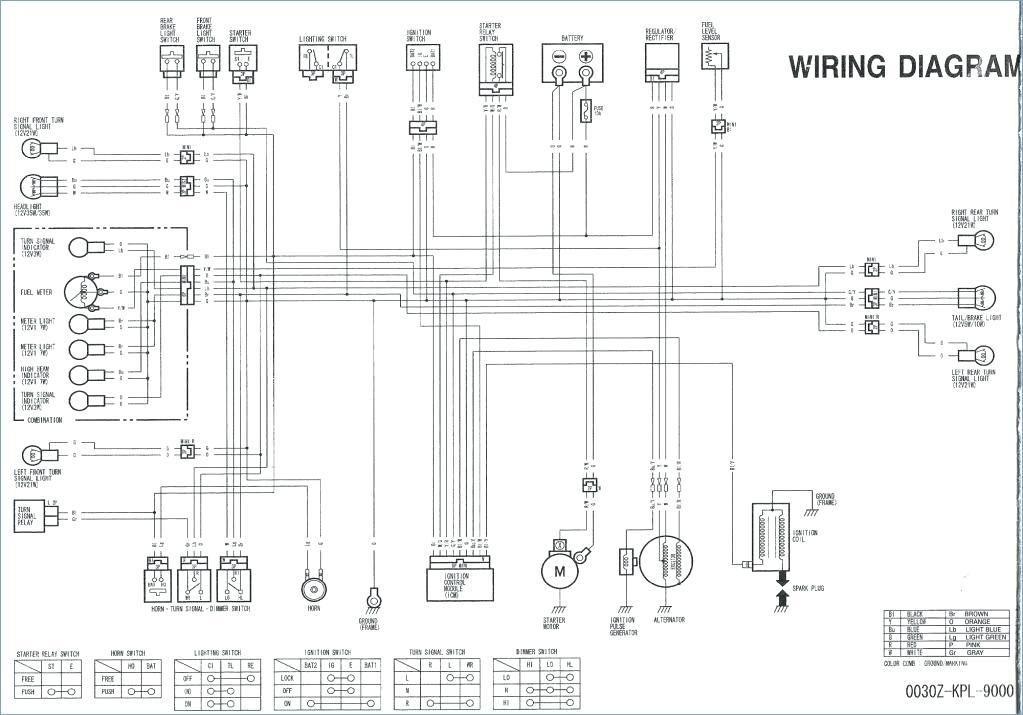 1998 Honda Shadow 600 Wiring Diagram