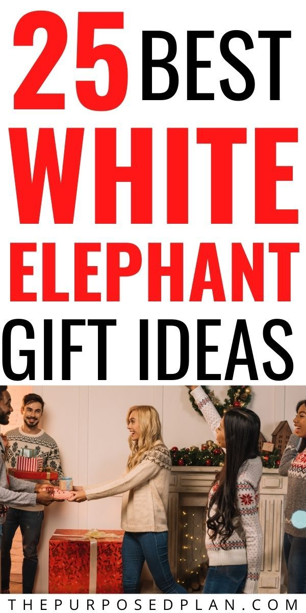 25 Best White Elephant Gifts People Want -   19 white elephant gift for work ideas