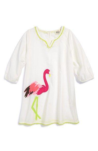 1d064e949b Mini Boden 'Beach Kaftan' Appliqué Cotton Cover-Up (Toddler Girls, Little  Girls & Big Girls) available at #Nordstrom