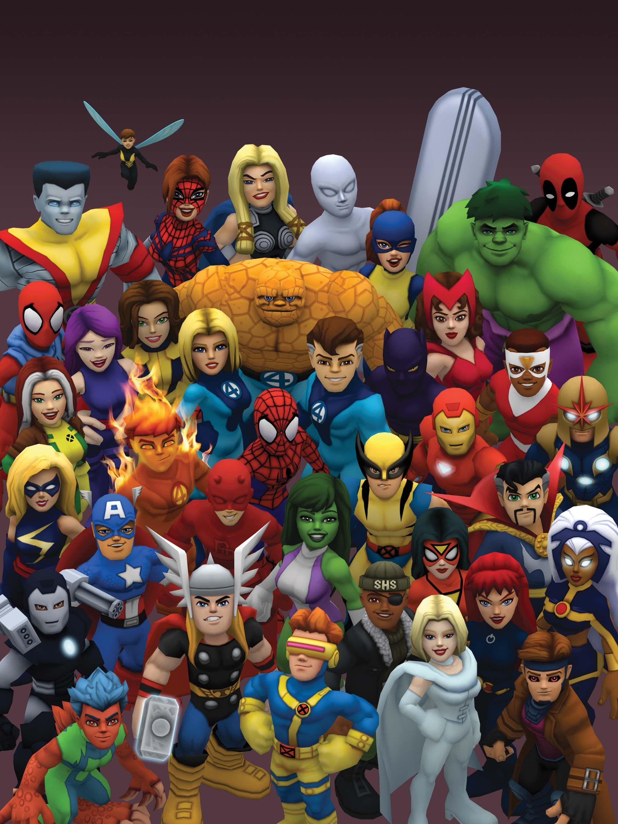 Marvel In July 2011 Marvel Universe Marvel superheroes