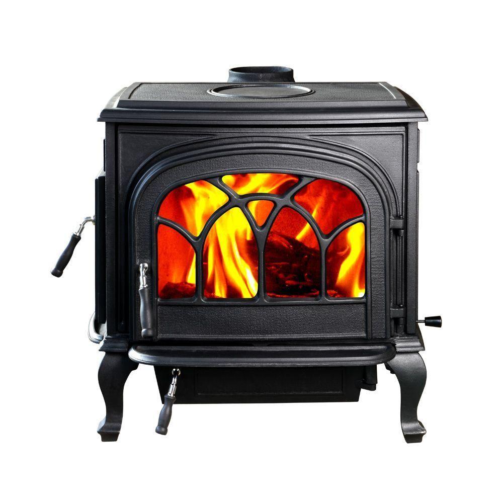 Hi Flame 2100 Sq Ft Stallion Large Wood Burning Stove Hf 737upbl