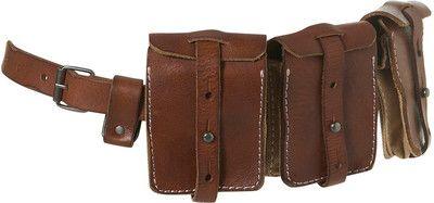 3 Pocket Detail Belt