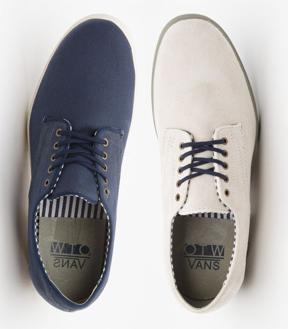 The Most Formal Looking Vans Shoe is Back! - Military Prichard ... 089bfd8e9