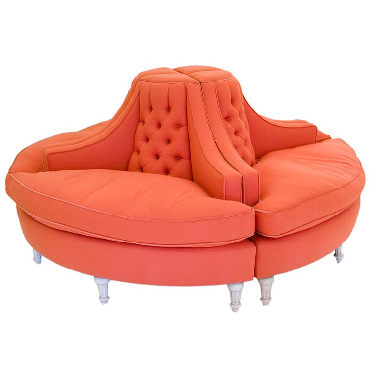 Stunning 4 Piece Round Sofa For Everyone Sofas And