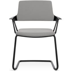 Photo of Cantilever visitor chair Its Movy black On-site article InterstuhlInterstuhl