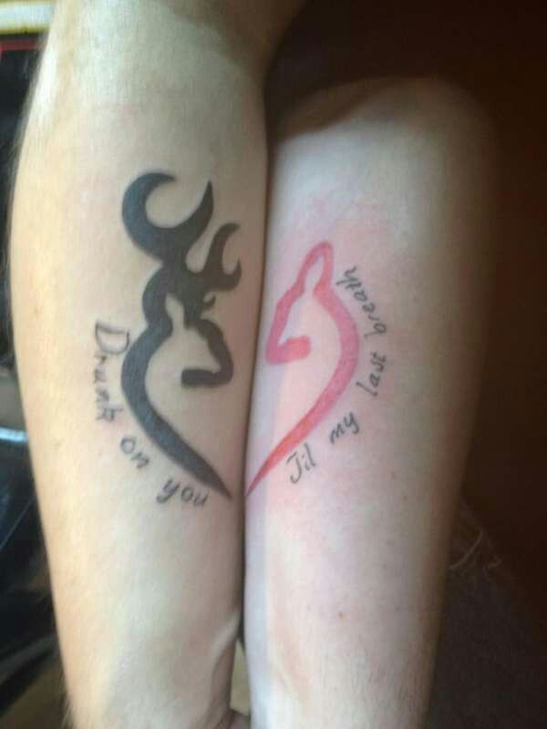 Tatuajes Dedicados A Abuelos his and her tattoo would love this | matching country tattoos