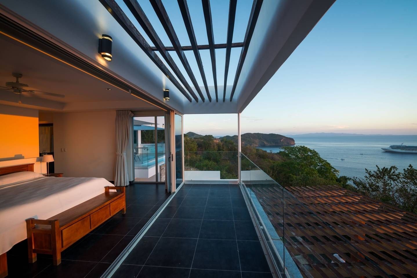Master Bedroom With A View Architect Design Luxurious Bedrooms Exterior Design