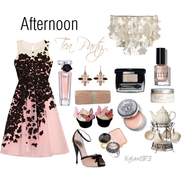 """""""Afternoon Tea Party"""" by kylan1973 on Polyvore"""