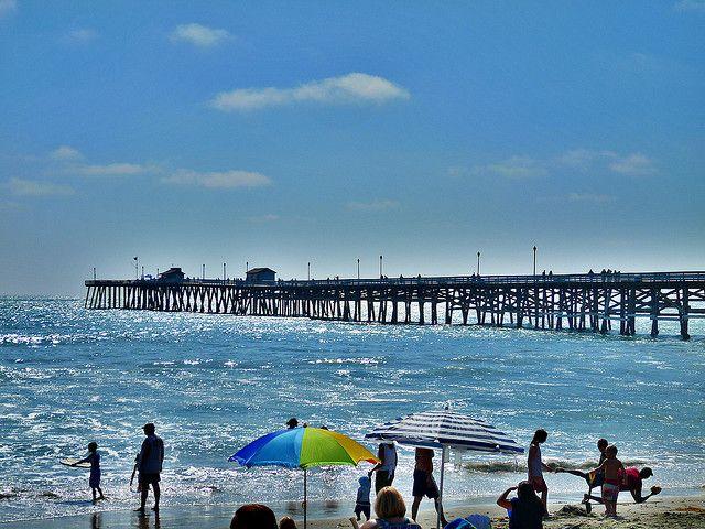 San Clemente California Pier & Beach