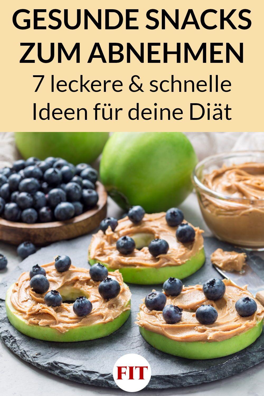 gesunde snacks beim abnehmen