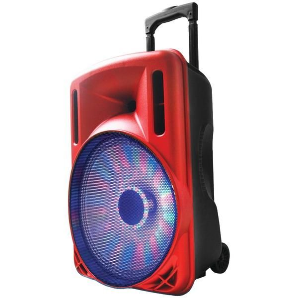 "Supersonic 12/"" Portable Bluetooth Powered DJ Speaker Sound System"