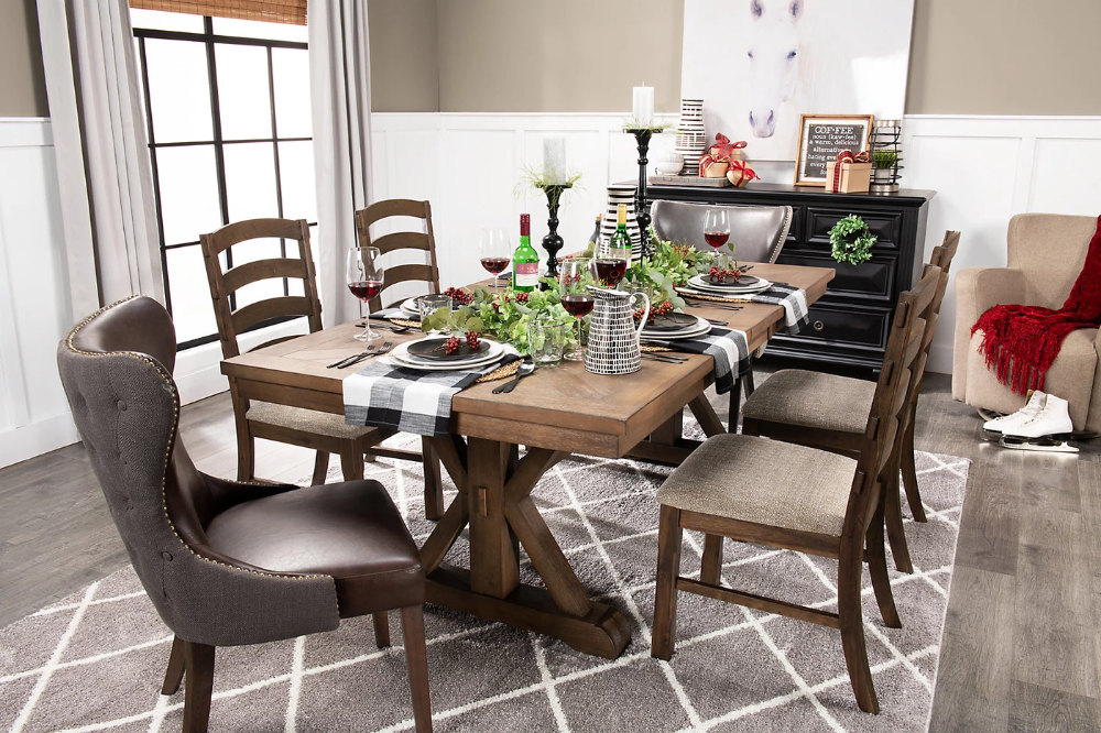 Theo 7 Piece Dining Set Dining Room Furniture Furniture 7
