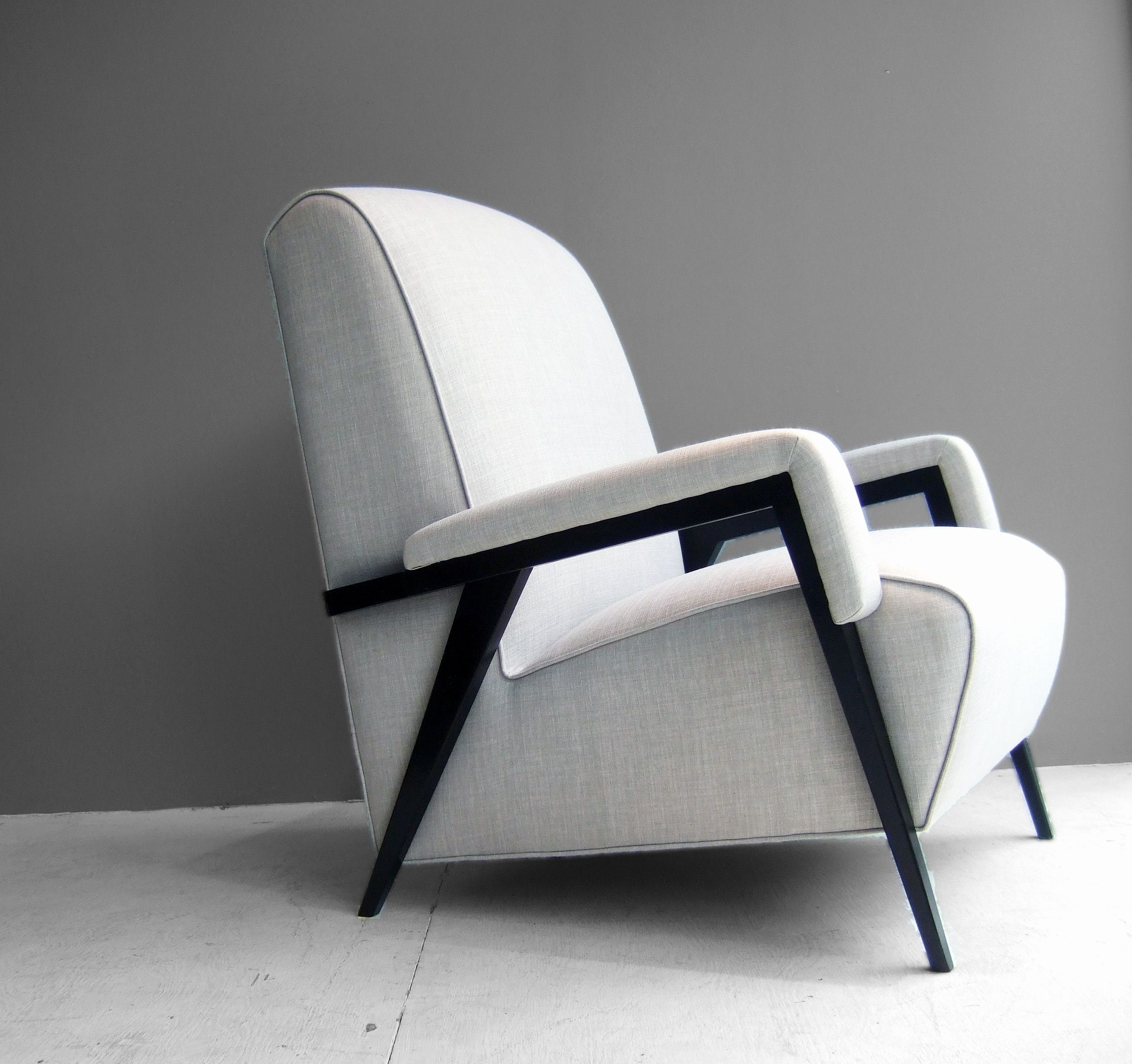 Armchairs toronto Elegant 50 S Newly Upholstered Armchairs ...