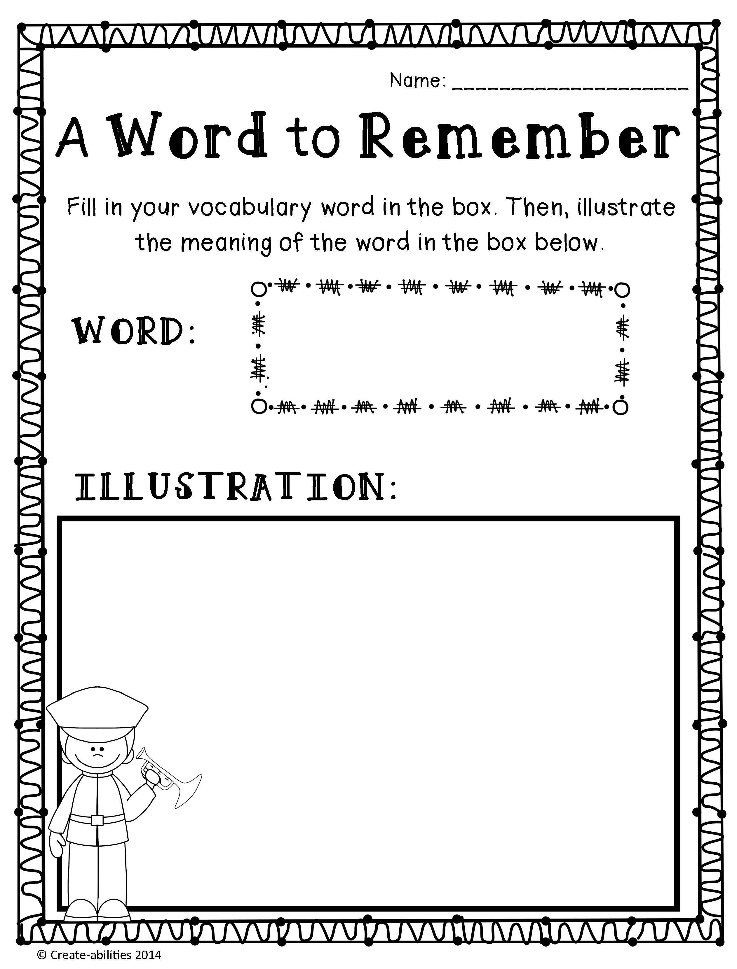 medium resolution of Veterans Day Reading and Writing Activities   Writing activities