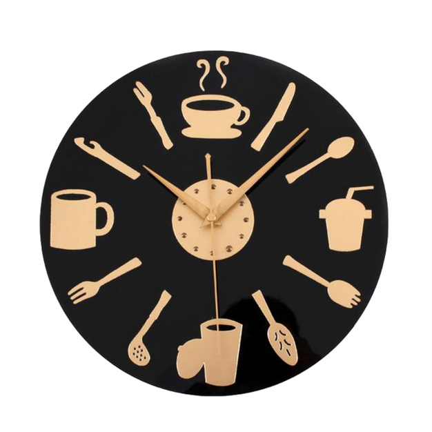 12 Modern Large Kitchen Wall Clock 3d Luxury Designer Gold Kitchen Wall Clocks Kitchen Clocks Clock
