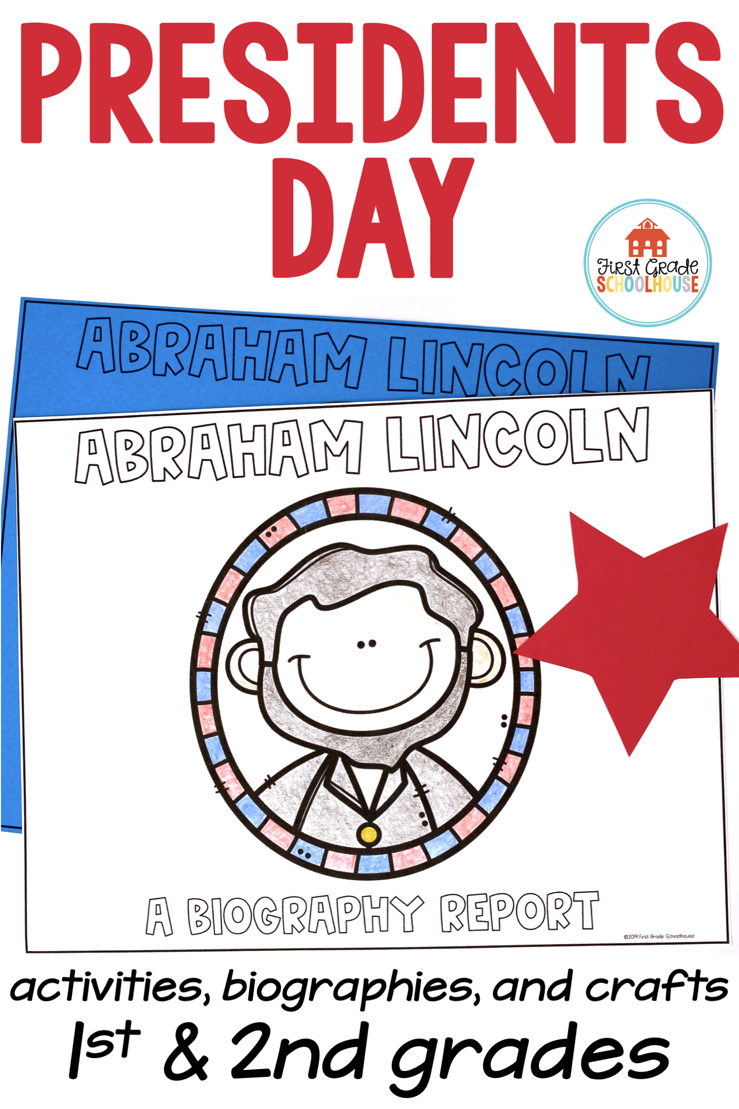 Presidents Day Activities and Crafts   Printable activities for kids [ 2249 x 1499 Pixel ]