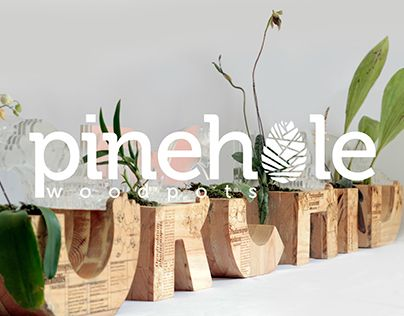 """Check out new work on my @Behance portfolio: """"Applied Typography on Wood pots"""" http://be.net/gallery/33403237/Applied-Typography-on-Wood-pots"""