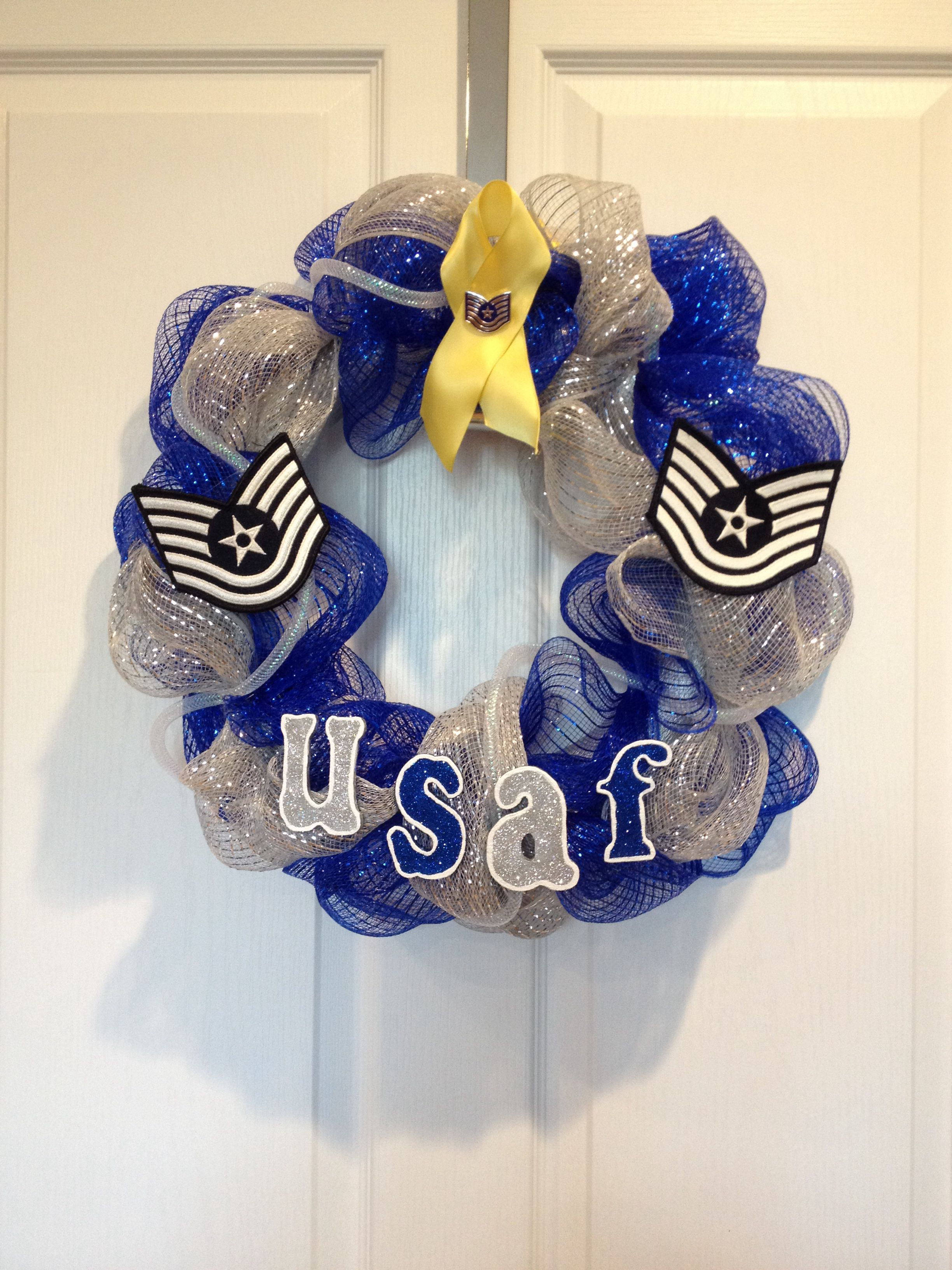 Air Force Wreath. I would like this without the rank