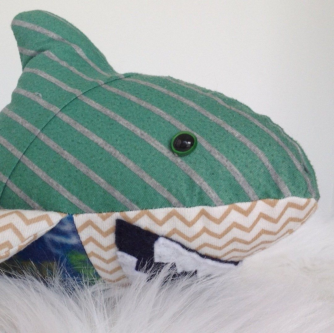 Memory Bear Keepsake Animal Shark custom and handmade
