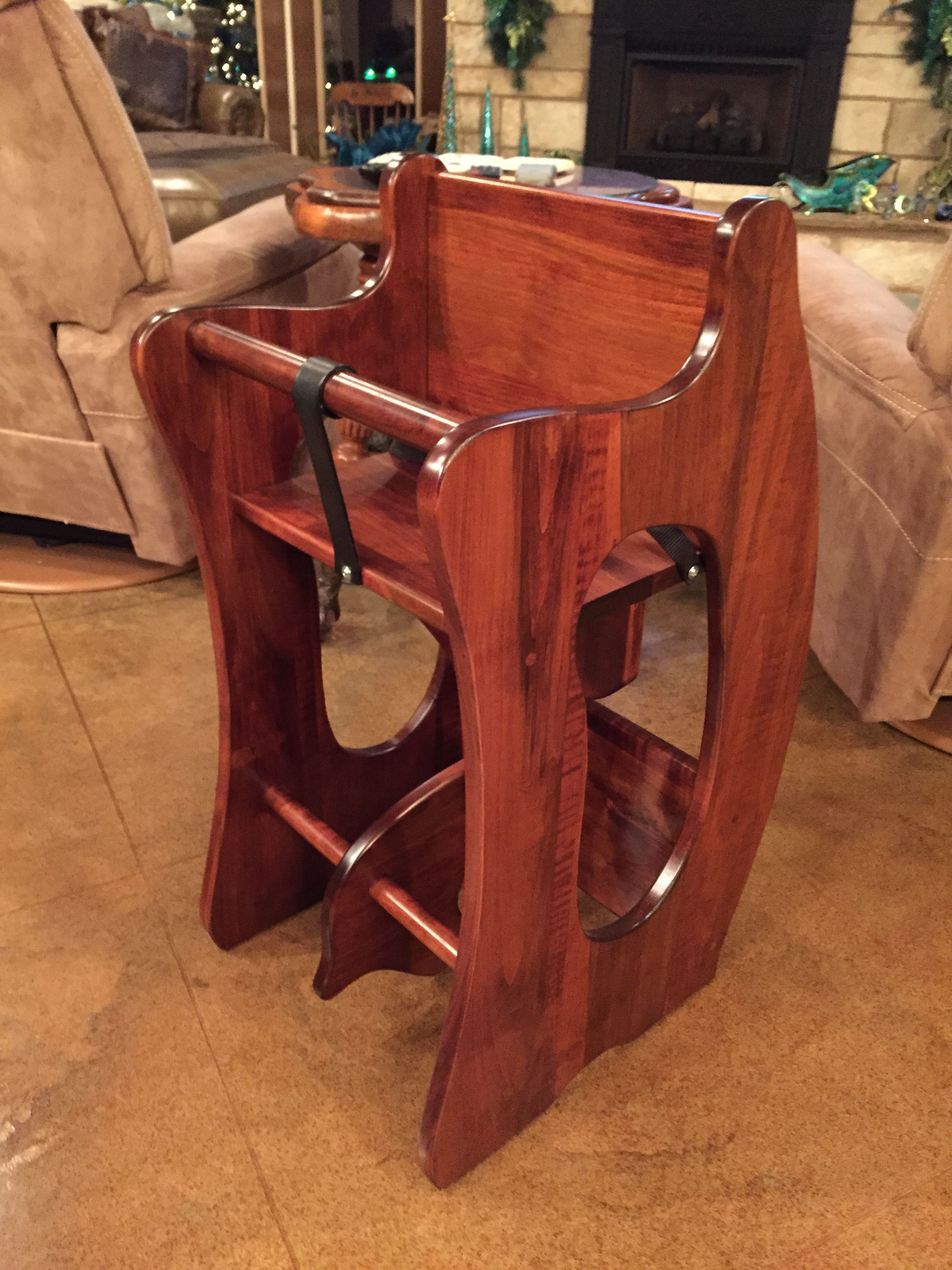 rocking horse chair desk chairpro amish furniture 3n1  highchair and all