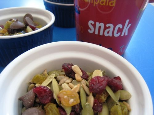 Trail Mix Recipe with Fruit, Seeds, & Chocolate