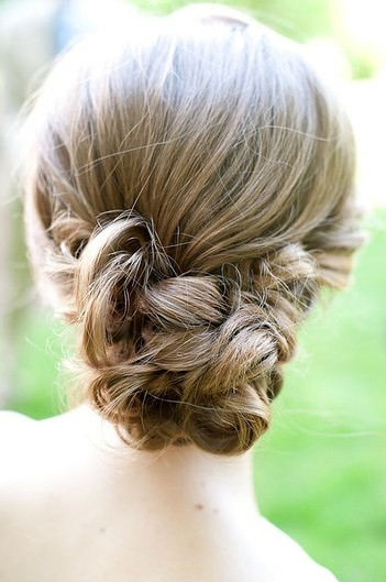 This updo is perfect for the office or a night out with your girlfriends.