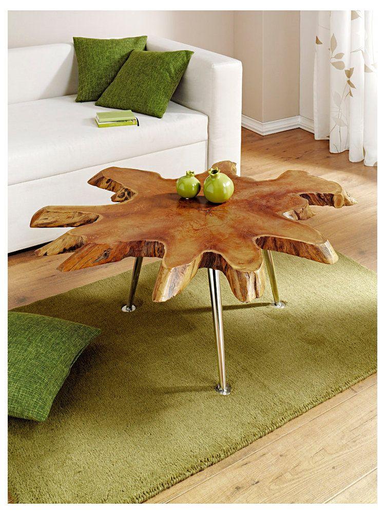 Meubles En Bois Table En Racine Chez Helline Fr Coffee Table Wood Wood Table Log Furniture