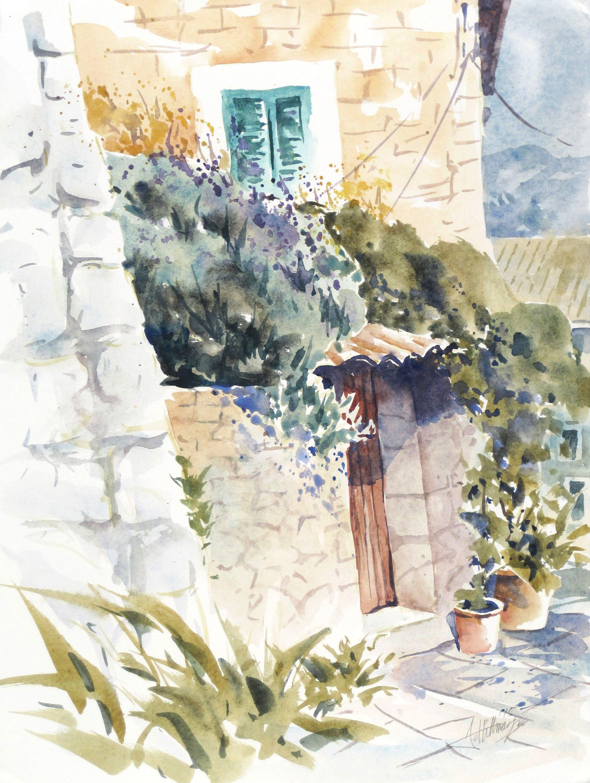 Malerisches Mallorca Ein Traum Aquarelle Landschaften