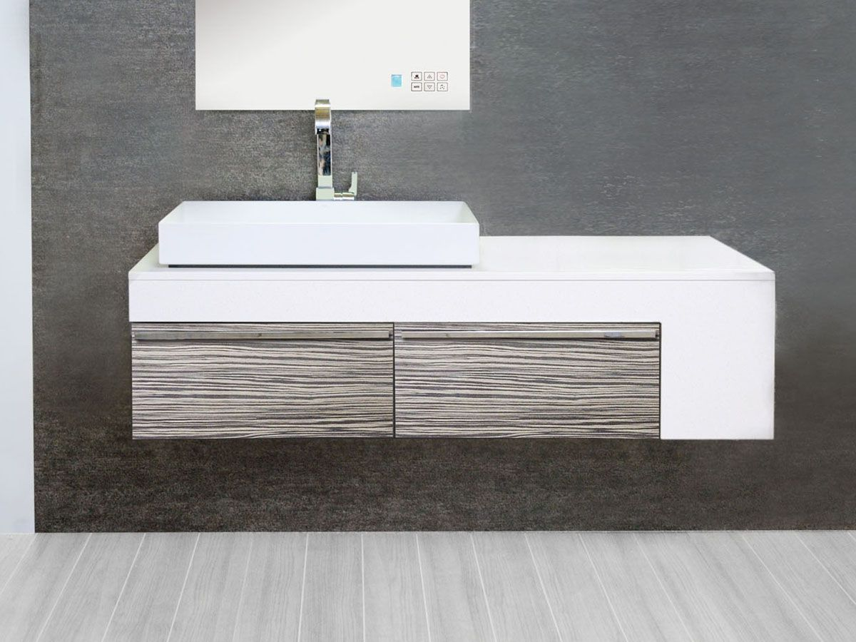 Architectural Designer Products Virgo Wall Hung Vanity Unit