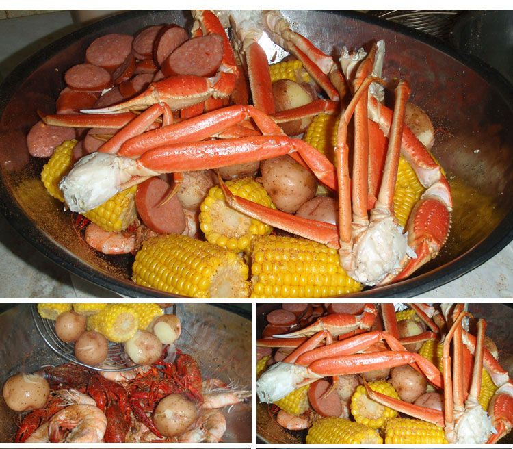 The Crazy Cajun Restaurant Everything Is Good Fun Port A Seafood Market You Can Call In And Order This Food Cooked Not
