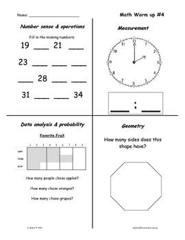math skill review in all content strands 1 10 ideas for the classroom math math skills. Black Bedroom Furniture Sets. Home Design Ideas