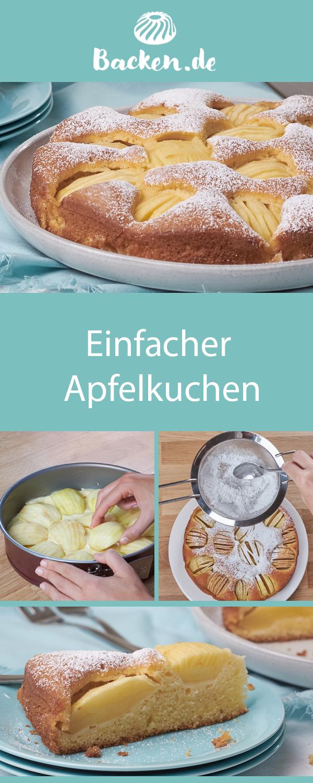 Photo of simple apple cake