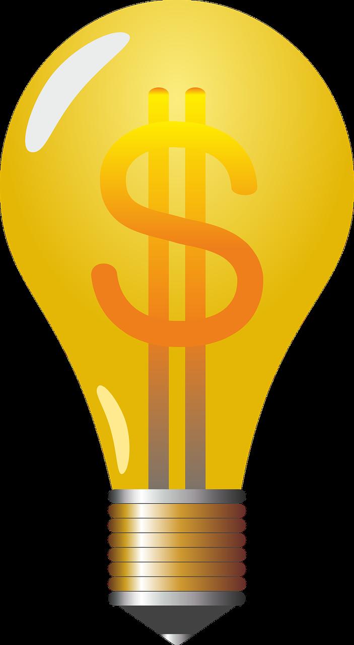 Imagen gratis en Pixabay - Bombilla, Pera, Lámpara, Dollar ...