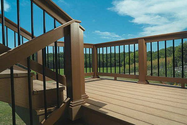 Http Wpcdeckingboard Com Wp Content Uploads 2012 10 Composite Decking Materials045 Jpg Deck Railings Building A Deck Deck Railing Design