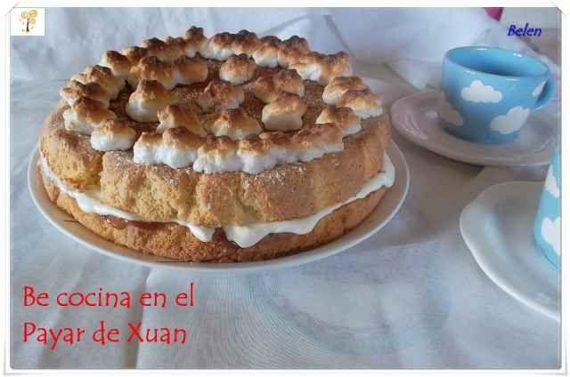 Be cocina en El Payar de Xuan: Torta de almendra