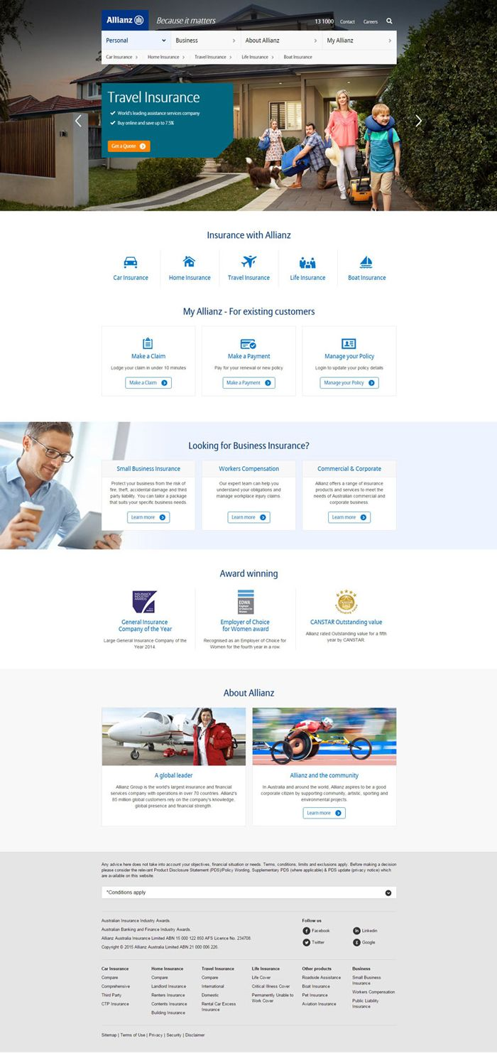 26 Excellent Insurance Websites Inspiration Insurance Website Household Insurance Home Insurance Quotes