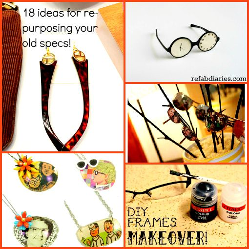 Repurpose Second Sight For Old Specs Diy Glasses Repurposed Diy Frame