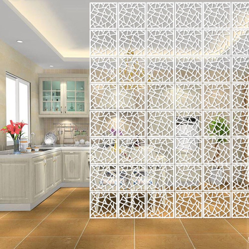 X white woodplastic hanging screen room divider partition wall